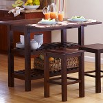Counter-height home office tables