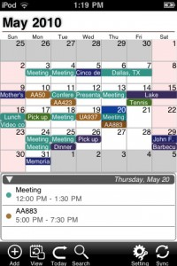 iPhone Calendaring App