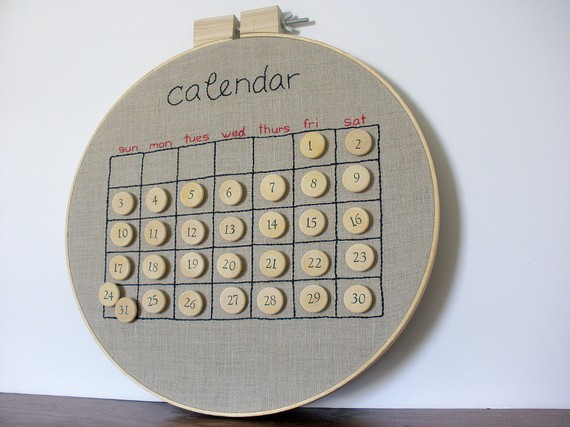 Corkboard Wall Calendars For The Home Office - Girlypc.Com